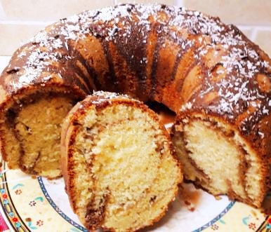 Νηστίσιμο κέικ με άρωμα πορτοκαλιού
